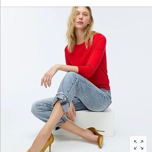 J. Crew Sweaters - New J. Crew Red Tippi Sweater